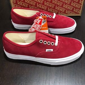 Vans Authentic Pig Suede Scooter